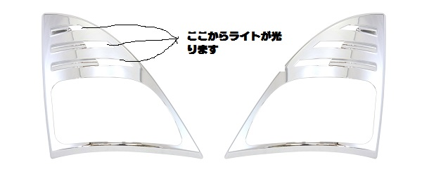 【ウィンカーカバー レンジャープロ/NEWプロフィア用】R/Lセット