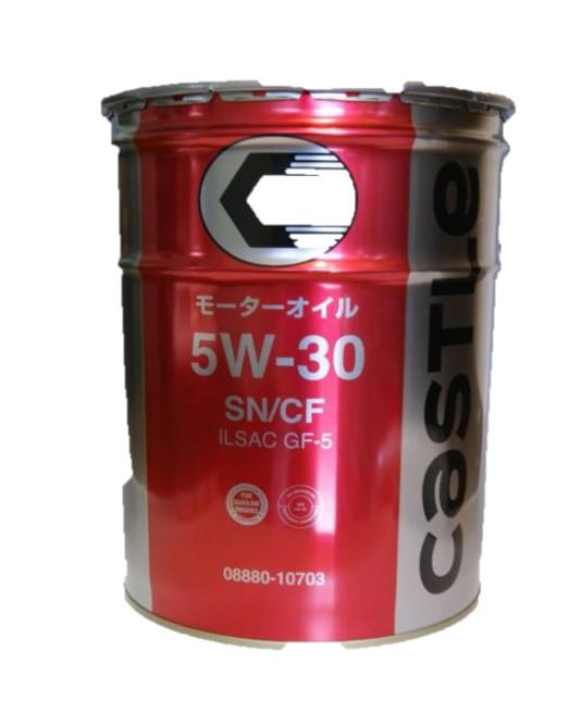 ガソリン/ディーゼル兼用オイルタクティ キヤッスル ガソリン/ディーゼル兼用(SN/CF :5W-30) 20L