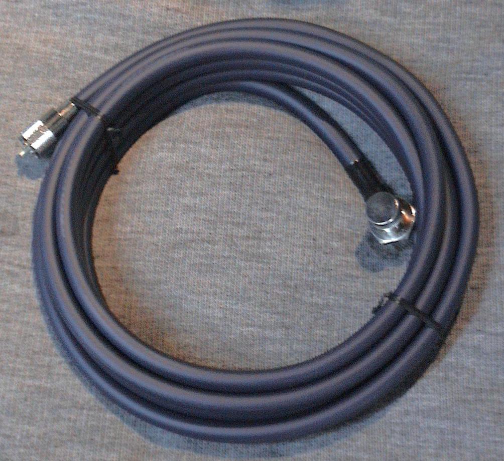 【同軸ケーブル】アマチュア無線専用5.5m