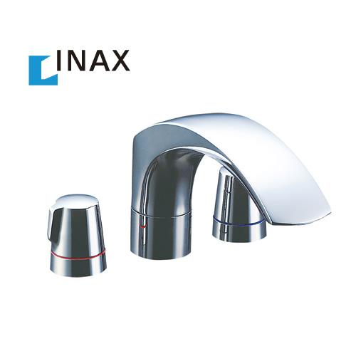 【送料無料】[BF-J093B] INAX イナックス LIXIL リクシル 2ハンドルバス水栓 デッキタイプ ジュエラシリーズ 吐水口長さ:236mm【パッキン無料プレゼント!(希望者のみ)】 水栓 蛇口 混合水栓 浴室用 おしゃれ 台付