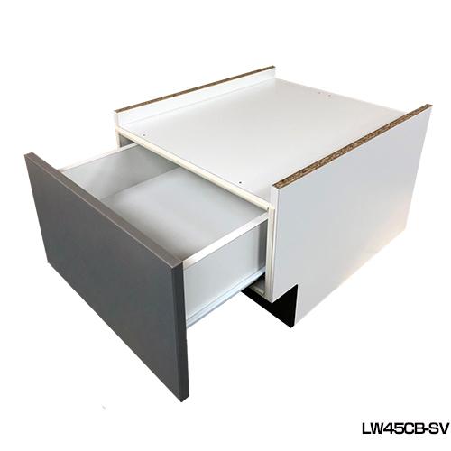 [LW45CB-SV] 当店オリジナル 食器洗い乾燥機部材 シルバー 【オプションのみの購入は不可】【送料無料】