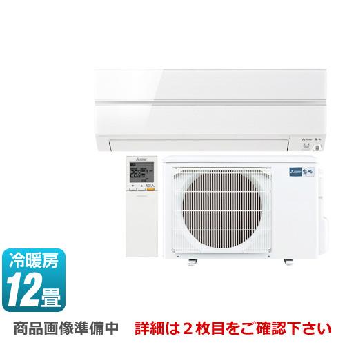 [MSZ-AXV3618S-W] 三菱 ルームエアコン AXVシリーズ 霧ヶ峰 デザインモデル 冷房/暖房:12畳程度 2018年モデル 単相200V・15A パウダースノウ 【送料無料】