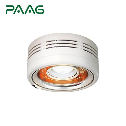 [P14P04D] パアグ ヒーター・ストーブ 暖・ライト ヒーター内蔵型天井照明 半埋め込み型 トイレ・脱衣場専用照明 ※この商品の工事はお受けしておりません 【送料無料】