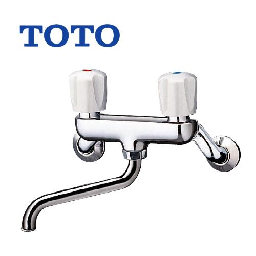 【送料無料】 TOTO 浴室バス水栓 蛇口 混合水栓 蛇口 壁付きタイプ [T20B] 浴槽用(シャワー無し) 【シールテープ無料プレゼント!(希望者のみ)※水栓の箱を開封し同梱します】 浴槽 水栓 混合水栓 蛇口 浴室用 壁付タイプ
