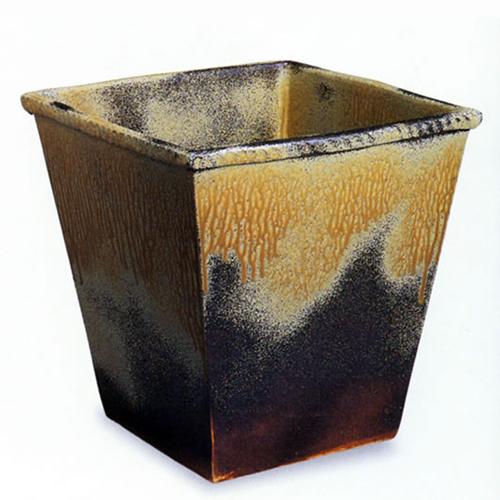 信楽焼き陶器掛け湯つぼ。陶器浴槽と一緒にお使い頂ける大ツボ。ご希望のサイズの壷をオーバーメイド!浴槽用陶器のかけ湯つぼ/信楽焼/やきもの/かめ/瓶/信楽焼風呂/陶器風呂[ky-0010]