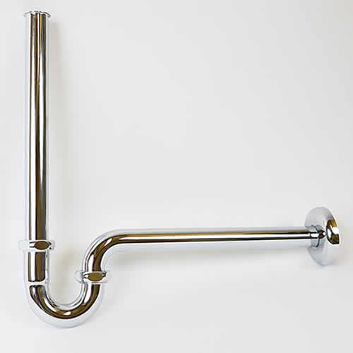 洗面ボウル用のPトラップ配管金具【32mm】 手洗い鉢に最適な金具です tr-8006