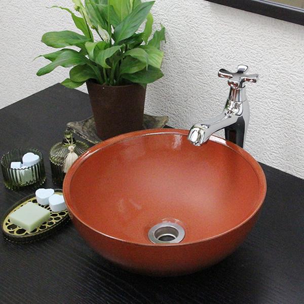 Multi Point Raku Iron Red Ball (mini) Toilet Bowl! Toilet Bowl Does ...