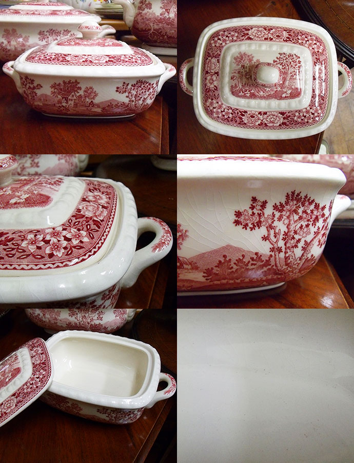 Antique tableware porcelain tureen in the early 1900s (Bowl with lid) Villeroy u0026&; Boch (villeroy boch) Germany ? & touche | Rakuten Global Market: u2022 Antique tableware porcelain ...