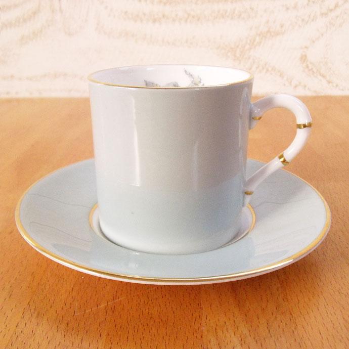 ヴィンテージ デミタス コーヒーカップ&ソーサー royal worcester ロイヤルウースター アンティーク 食器 陶磁器 キッチン雑貨 テーブルウェア ティ―セット 茶器