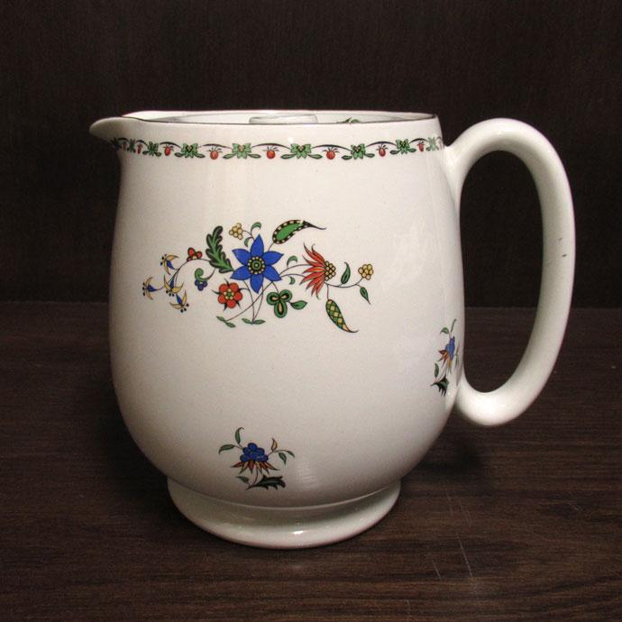 アンティーク ジャグ Shelley シェリー 1925-40年頃 ヴィンテージ 食器 陶磁器 キッチン雑貨 テーブルウェア ティ―セット 茶器 ポット