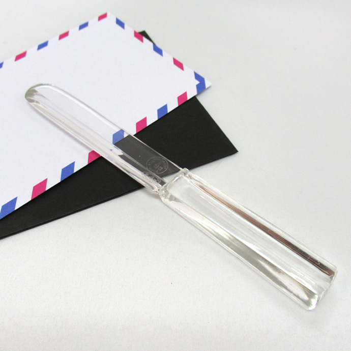 アンティーク バカラクリスタル製 ペーパーナイフ フランス ヴィンテージ 雑貨 ステーショナリー 文房具 レターオープナー おしゃれ かっこいい