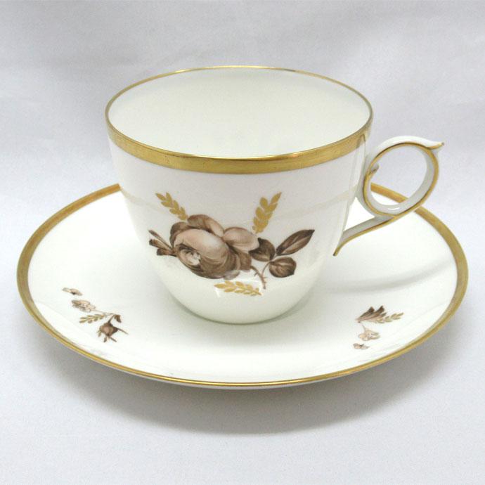 アンティーク トリオ カップ&ソーサー royal copenhagen ロイヤルコペンハーゲン 1959年頃 ヴィンテージ 食器 陶磁器 キッチン雑貨 テーブルウェア ティ―セット 茶器