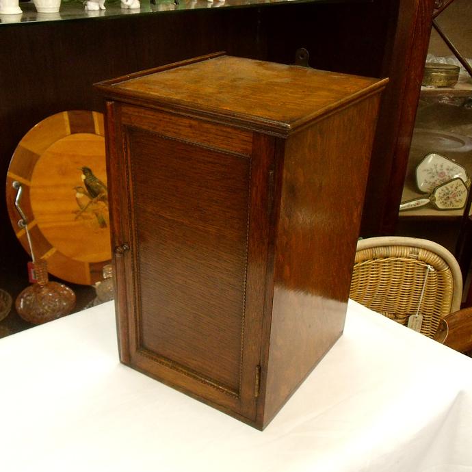 ◆アンティーク家具・雑貨 ラックボックス 木製 繊細な作り チェスト/収納/オーク/壁掛け可