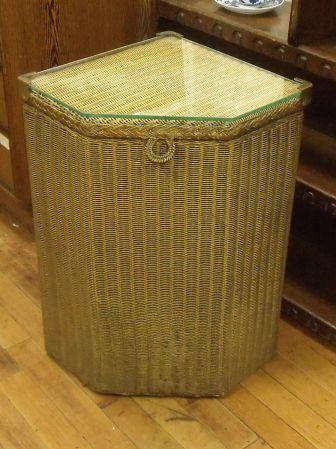 アンティーク家具・雑貨 ロイドルーム(LLOYD LOOM) 1930年代 ガラス付