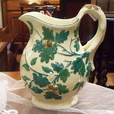 アンティーク雑貨 メイソンズ・オーク(Mason's Oak) ジャグ(jug)・水差し どんぐり・エイコーン柄 1920年頃