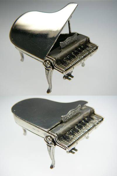 イタリアキメラ・オロ社製ミニチュアオーケストラ ピアノ