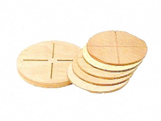 [陶芸] ワンタッチかめ板セット 木製1