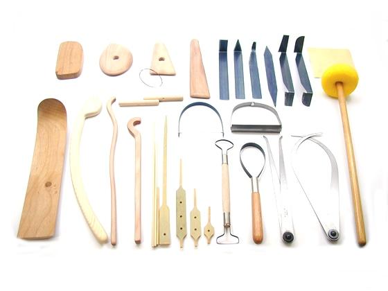 [陶芸用品] 成形小道具 電動ろくろ小道具セット