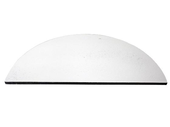 [陶芸 用品] カーボランダム棚板 φ530mm 半丸 2枚組