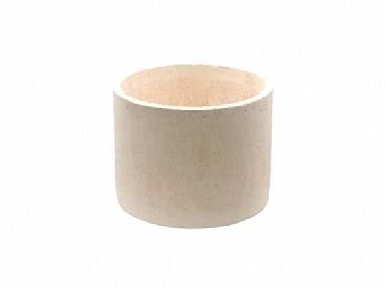 陶芸用品 陶芸道具 新登場 陶芸材料 焼成小道具 電気窯での簡易還元焼成や SALE 作品の保護などに使用します 内寸φ180 丸型 底付き 150mm サヤ 陶芸