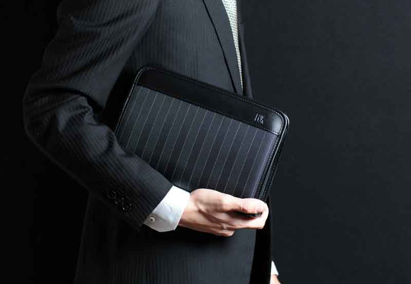 8a948283d38 ... ウノフク / business bag / light weight / black / brown / made in ...
