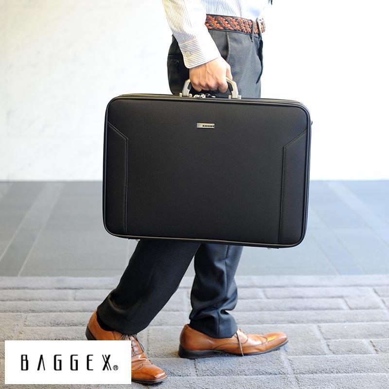 【 ポイント2倍 】 BAGGEX ソフトアタッシェケース A3対応 ORIGIN AT49 ブラック 24-0311 /男性用/メンズ/アタッシュケース/2way/A3/大容量/ナイロン/鞄/かばん/バッグ/日本製/軽量/出張/ 【送料無料】