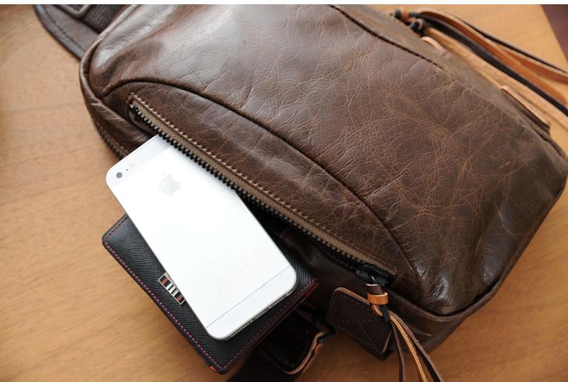 La 拱廊皮革狱政吉普赛和男人的一肩 / 叶片肩袋、 皮革箱包、 皮革皮具皮革袋挎包青木、 在日本 /iPad 迷你 /