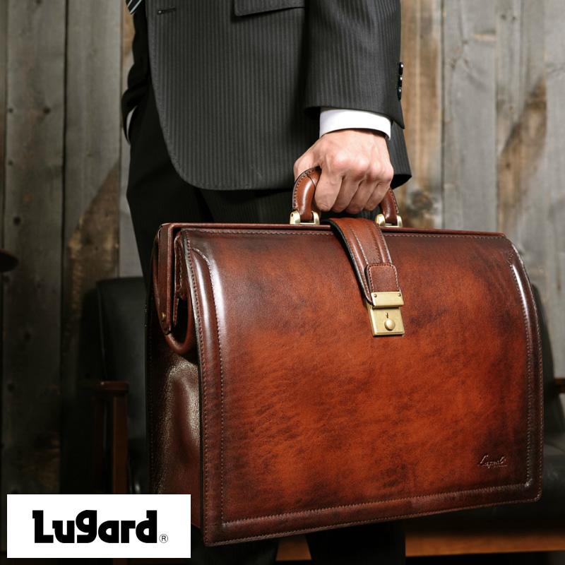 【 ポイント2倍 】 青木鞄 Lugard 本革 ダレスバッグ G-3 メンズ ビジネスバッグ 日本製 レザー 牛革 B4 おすすめ 大人 男性 本格 【送料無料】