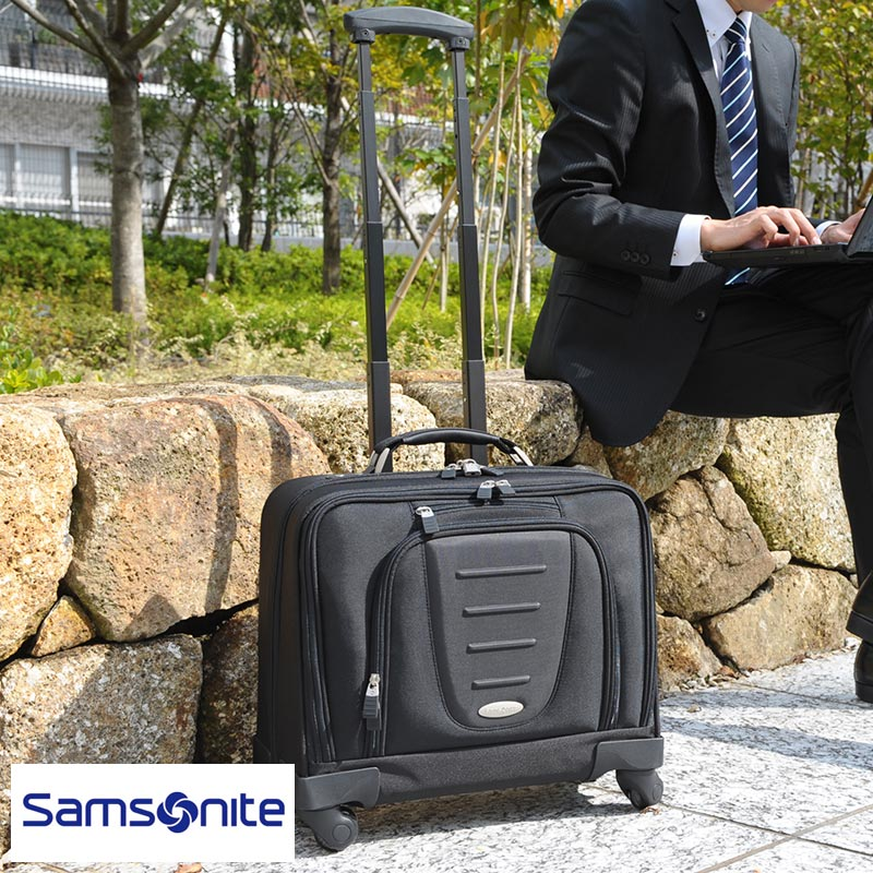Samsonite Mobile Offices 4 Wheel Business Carry Bag 10 392 1041 For Men Mens Case Cabin Horizontal Keyed
