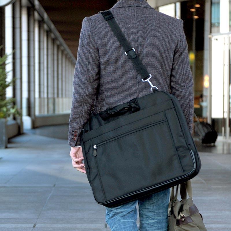 10a8434a0c27 Mens bag Shinshi Mono  Garment bag 3Y71   men s men s   garment bag   2way    tri-fold   nylon   garment case   suits put   travel   lightweight