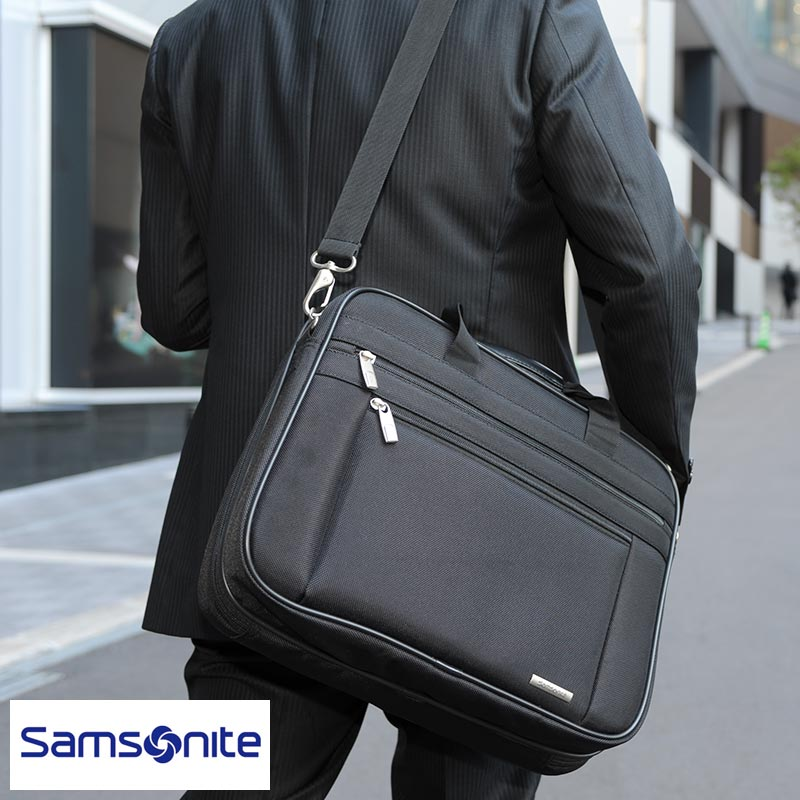 purchase genuine lovely design wholesale sales Samsonite Samsonite men briefcase business bag CLASSIC 13-15.6 inches  PC-adaptive 48,176-1041 nylon B4 2way multifunctional shoulder