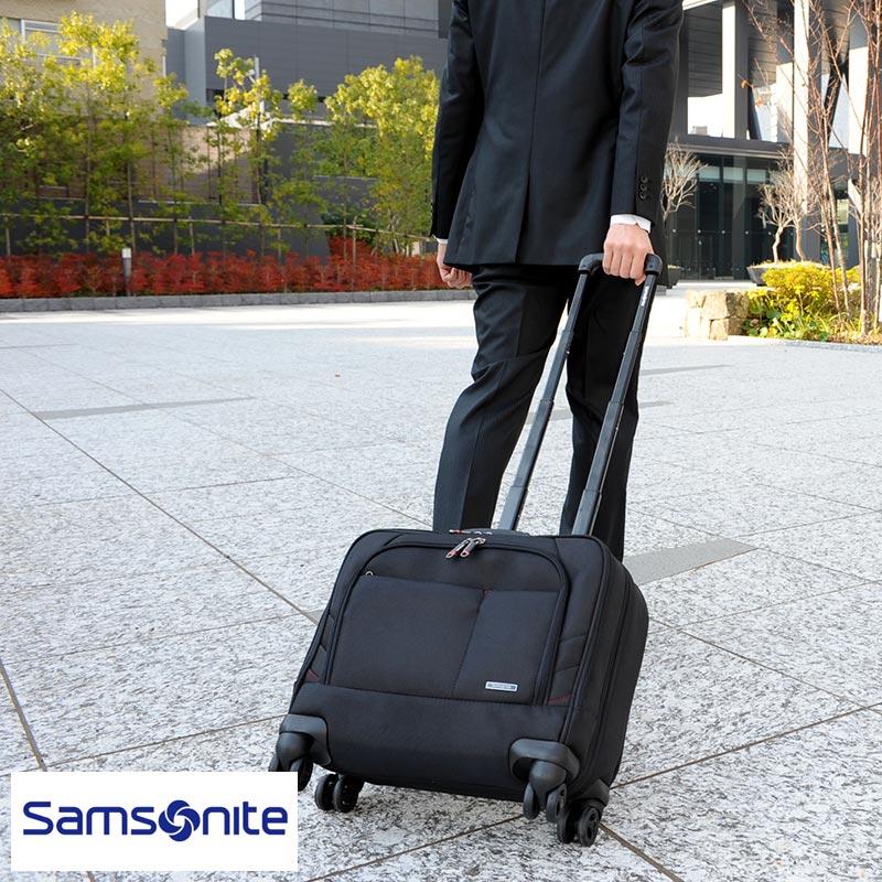 【 ポイント2倍 】 Samsonite サムソナイト XENON2 4輪ビジネスキャリーバッグ 63920-1041 /男性用/メンズ/キャリーケース/ビジネス/機内持ち込み/キャリーバッグ/横型/出張/トロリーバッグ/ 【あす楽対応】