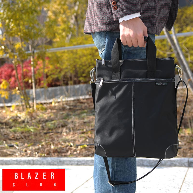 99eff10378e9 BLAZERCLUB with handle A4 vertical shoulder bag black No.26512 and bags for men  men s   shoulder bag and also A4   weight  iPad     nylon   bag bag bag  made ...