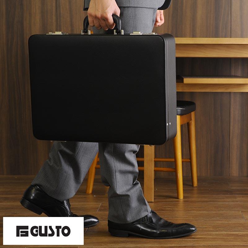 【 ポイント2倍 】 G-GUSTO ハードアタッシュケース A3対応 ブラック No.21211 /男性用/メンズ/アタッシェケース/ダイヤルロック/ビジネスバッグ/合皮/軽量/ビジネス/頑丈/鞄/かばん/バッグ/ 【送料無料】