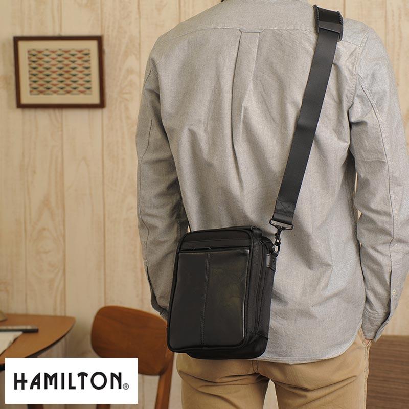4cd2e3986805 HAMILTON If skin Combi vertical shoulder bag black No.33671   men s men s   shoulder  bag   mini  B6     nylon   small small   simple   casual   bag satchel ...