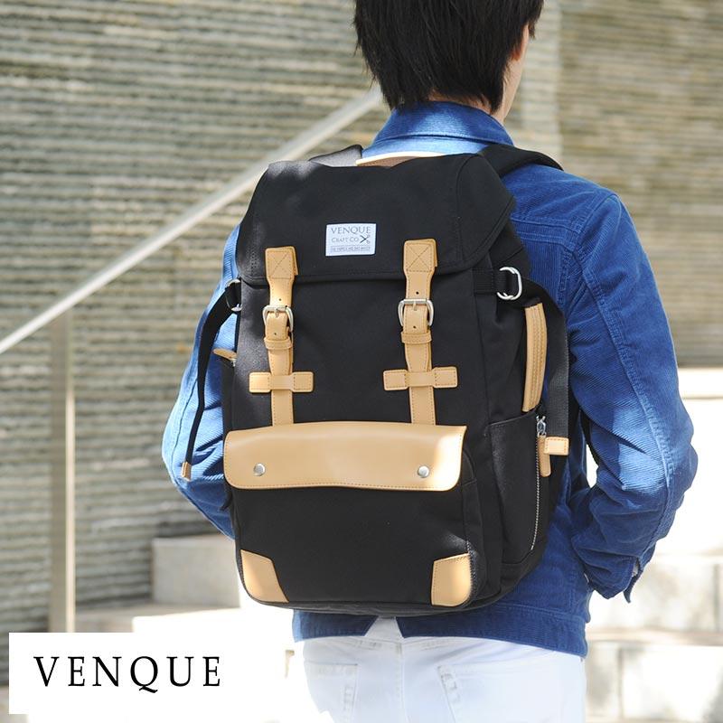 【 ポイント2倍 】 VENQUE リュックサック Alpine Rucksack 男性用 メンズ バックパック ナイロン カメラリュック カメラバッグ 一眼レフ 三脚 鞄 かばん バッグ
