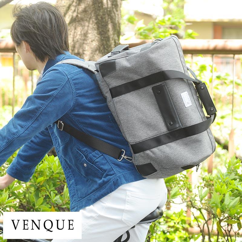 VENQUE 3wayボストンバッグ Dufflepack /男性用/メンズ/ボストンバッグ/リュック/旅行/2泊/3泊/ダッフルバッグ/鞄/かばん/バッグ/