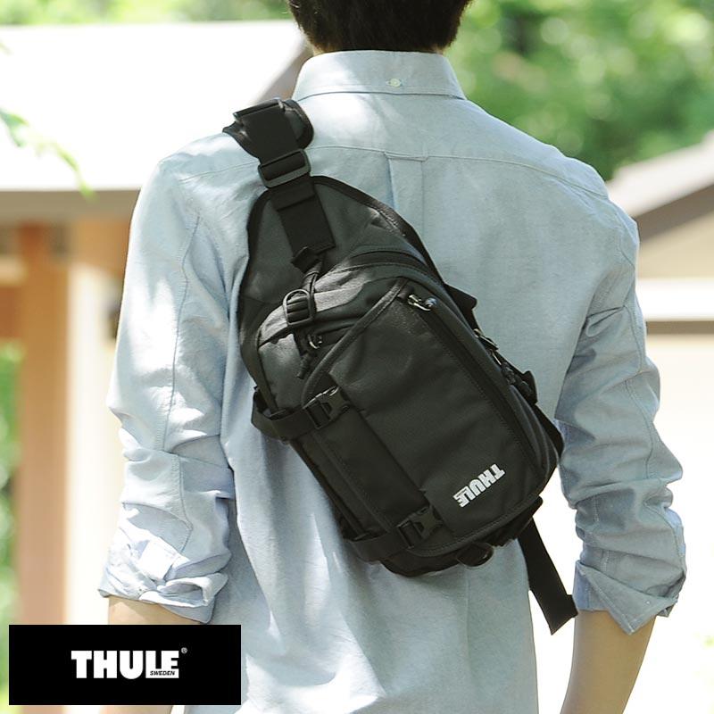 THULE システムカメラ用ボディバッグ COVERT CSC SLING ダークシャドウ TCCF-101 /男性用/メンズ/カメラバッグ/一眼レフ/ミラーレス/ショルダー/スリング/スリングバッグ/小さめ/鞄/かばん/バッグ/