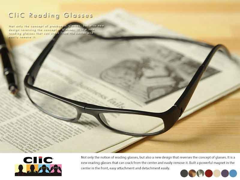 【 ポイント2倍 】 老眼鏡 男性 おしゃれ CliCreader 老眼鏡 クリックリーダー ユーロタイプ  男性用 メンズ 老眼鏡 おしゃれ クリックリーダー リーディンググラス シニアグラス おじいちゃん プレゼント