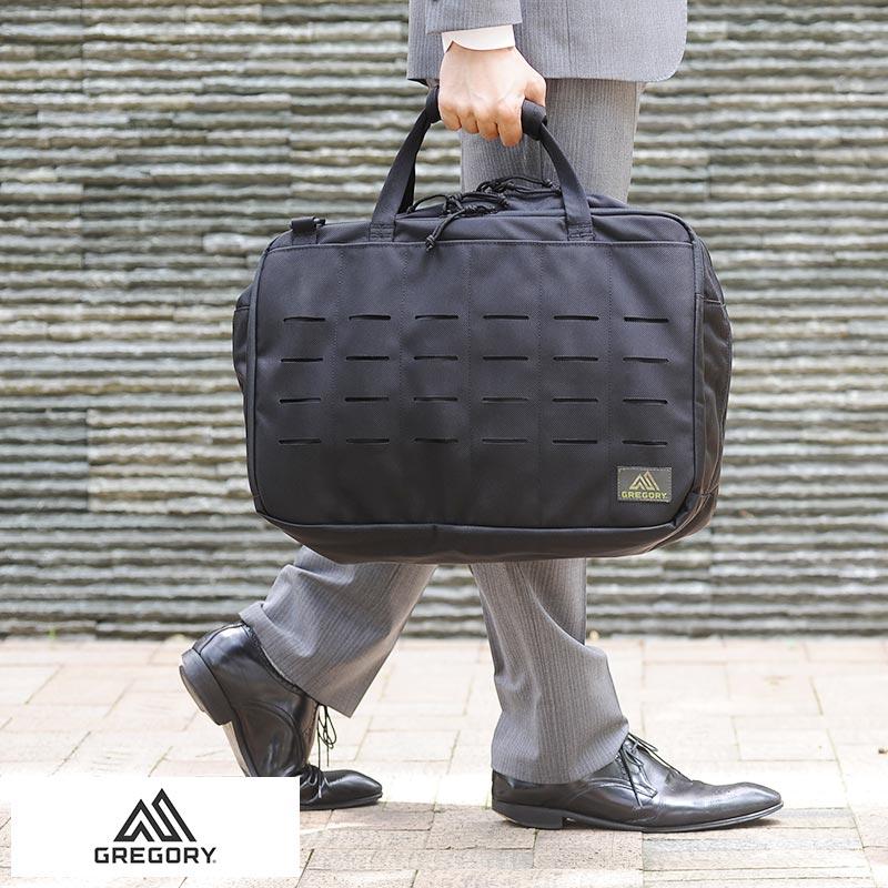 GREGORY グレゴリー 3wayビジネスバッグ Spear Marshal 3way 男性用 メンズ 3way ブリーフケース リュック ナイロン B4 パソコン 自転車通勤 鞄 かばん バッグ 【あす楽対応】