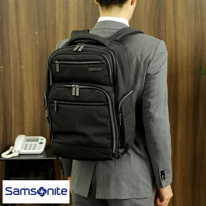 【 ポイント2倍 】 ビジネスリュック メンズ Samsonite サムソナイト ビジネス リュック ラージ MODERN UTILITY Double B4 大容量 ビジネスバッグ ナイロン 丈夫 軽量 おすすめ 通勤 【あす楽対応】 【送料無料】