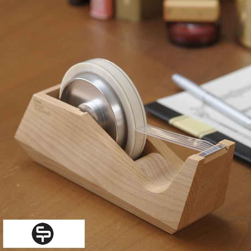 最新 木製のおしゃれなテープカッター 大人の文房具 Craft Design Technology お洒落 木製 テープカッター おしゃれ セロテープ台 カッター セロテープ ウッド 大人 日本製 文房具 仕事 送料無料 かわいい