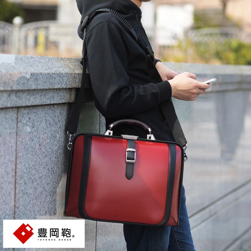 豊岡鞄 2wayダレスバッグ New Dulles TOUCH2 F3 model 男性用 メンズ ダレスバッグ 豊岡 A4 合皮 日本製 ショルダー付き カジュアル 鞄 かばん バッグ