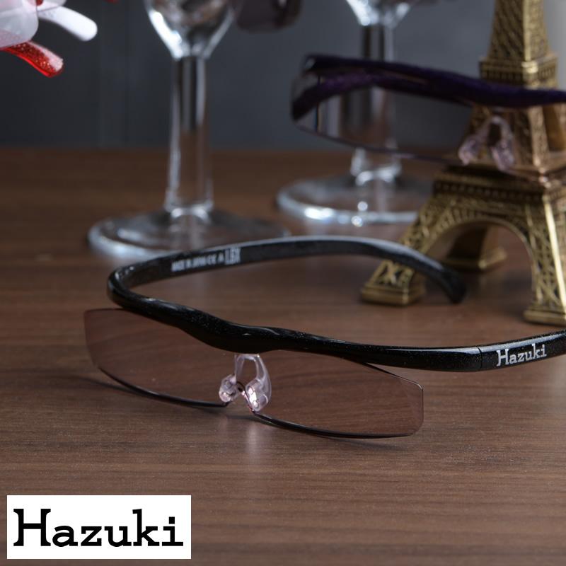 【期間限定割引】【特典プレゼント付】 Hazuki 正規 ハズキルーペ クール カラーレンズ 1.32 1.6 1.32倍 1.6倍 拡大鏡 メガネ型 ルーペ メガネ 日本製 ブルーライトカット プレゼント ギフト
