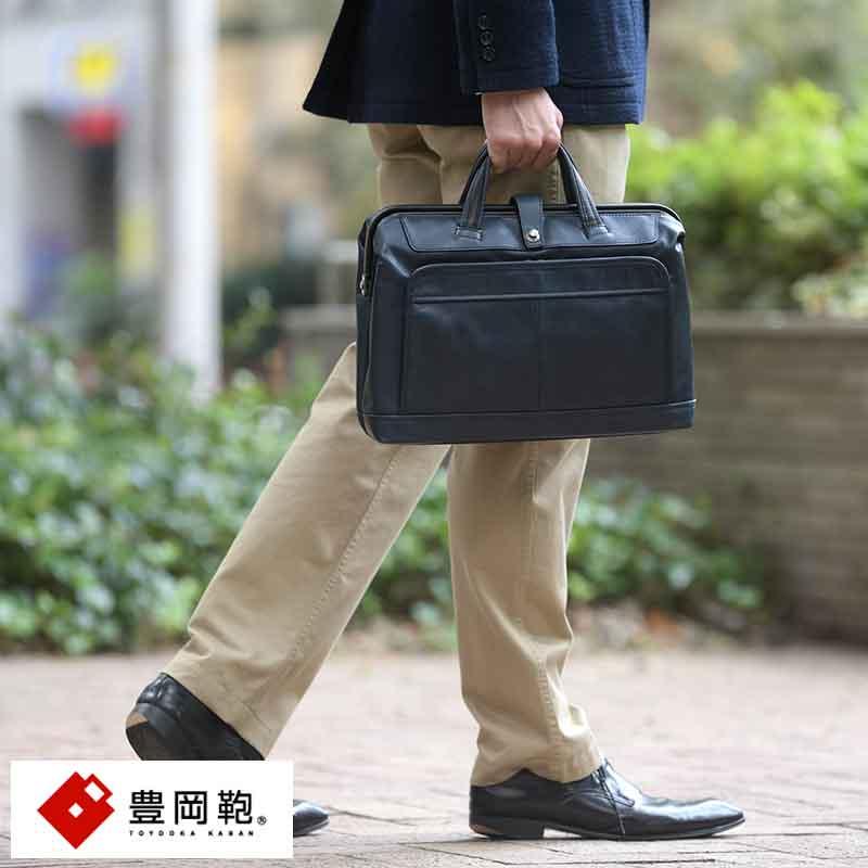 【 ポイント2倍 】 豊岡鞄 ダレスバッグ メンズ 本革 ARTPHERE Cavallo ミニダレス ビジネス 革 ブリーフケース A4 日本製 レザー 【送料無料】