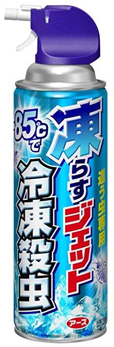 凍らすジェット冷凍殺虫300ML 【20本x1箱】: アース製薬