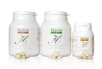 Hatto-α&Hatto-β&Hatto-γ 各3本セット