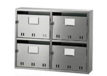 BL集合郵便受箱(SA型)型式SA-4BL戸数:4戸用 SK-104SBL