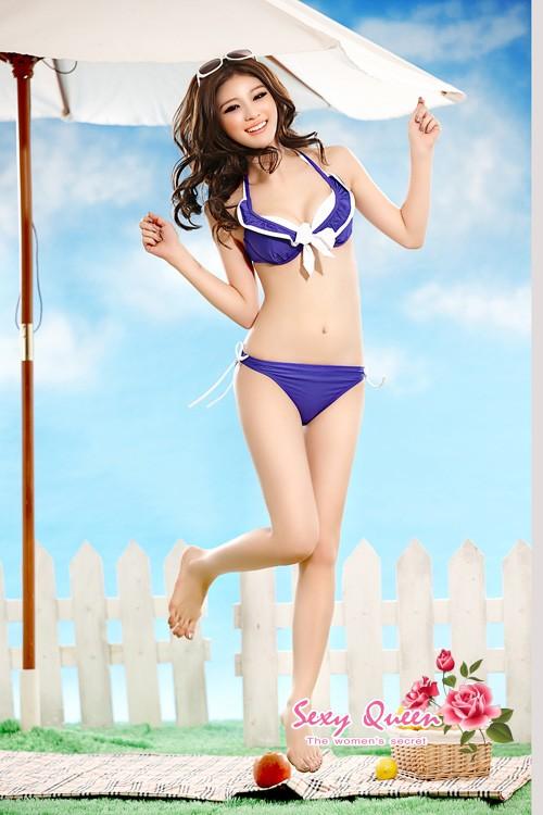 女子的游泳衣游泳衣电线比基尼分离游泳衣比基尼女士煤尘推车3分安排安排花纹轻松gifu包装sw-3