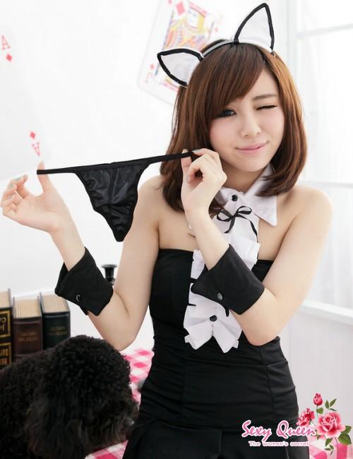 耳朵猫耳朵喀秋莎猫古装戏佣人万圣节古装戏不可能猫假扮